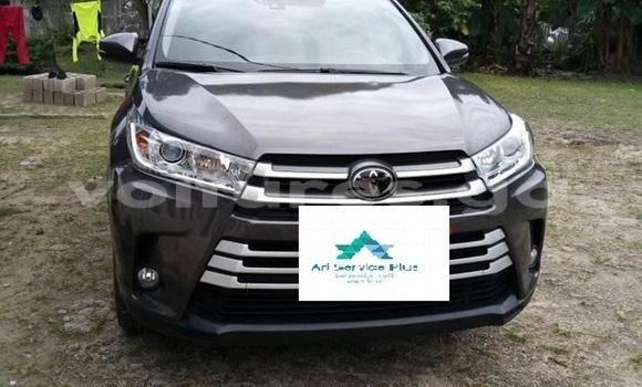Acheter Importé Voiture Toyota Highlander Noir à Libreville, Estuaire