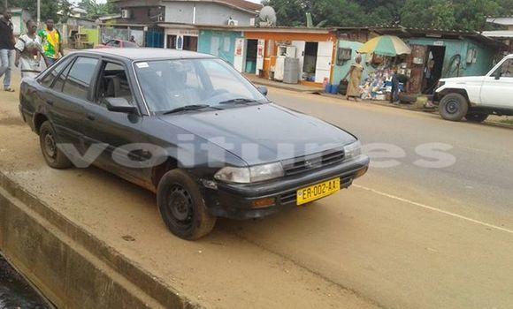 Acheter Occasions Voiture Toyota Carina Noir à Libreville au Estuaire