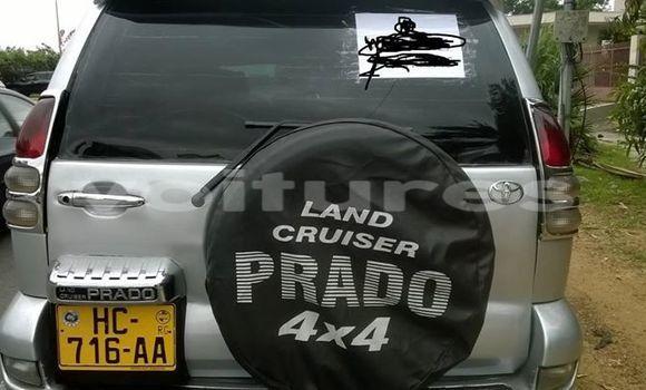 Acheter Occasion Voiture Toyota Land Cruiser Prado Gris à Libreville au Estuaire