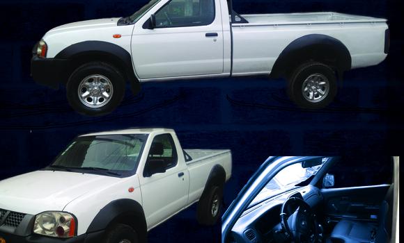 Acheter Occasion Voiture Nissan Hardbody Blanc à Libreville, Estuaire