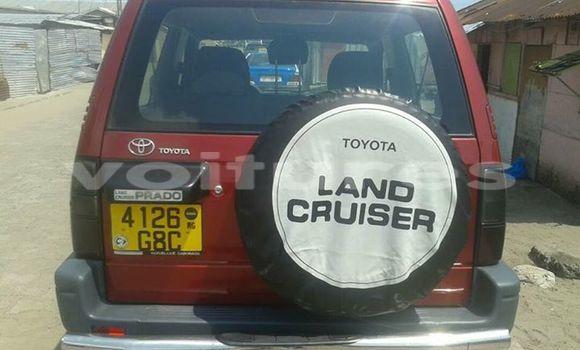 Acheter Occasion Voiture Toyota Land Cruiser Prado Rouge à Libreville au Estuaire
