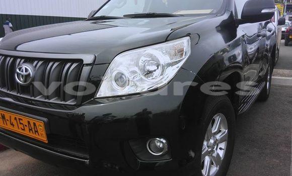 Acheter Occasion Voiture Toyota Land Cruiser Prado Noir à Libreville au Estuaire