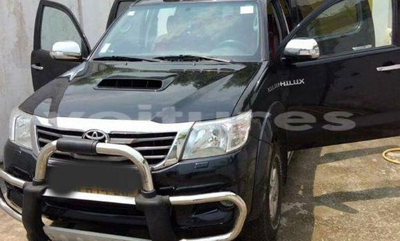 Acheter Occasion Voiture Toyota Hilux Noir à Libreville au Estuaire