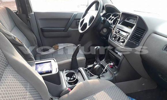 Acheter Occasion Voiture Mitsubishi Pajero Rouge à Libreville au Estuaire