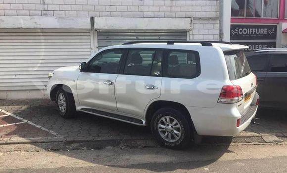 Acheter Occasions Voiture Toyota Land Cruiser Blanc à Libreville au Estuaire