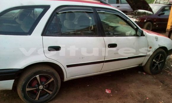 Acheter Occasion Voiture Toyota Corolla Blanc à Libreville au Estuaire