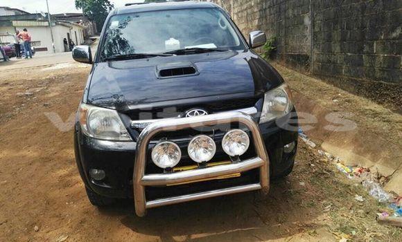 Acheter Occasion Voiture Toyota Hilux Noir à Libreville, Estuaire