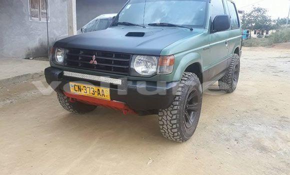 Acheter Occasion Voiture Mitsubishi Pajero Vert à Libreville au Estuaire