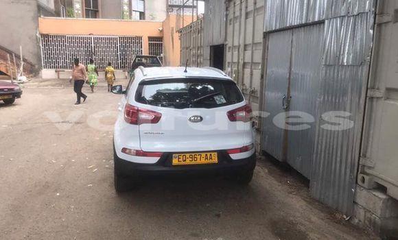 Acheter Occasion Voiture Kia Sportage Blanc à Libreville au Estuaire