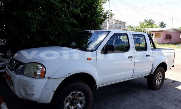 Acheter Occasion Voiture Nissan Hardbody Blanc à Libreville au Estuaire