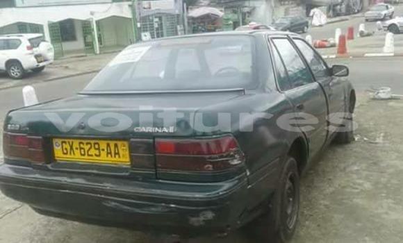 Acheter Occasion Voiture Toyota Carina Noir à Libreville au Estuaire