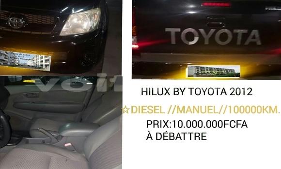 Acheter Occasions Voiture Toyota Hilux Noir à Libreville au Estuaire