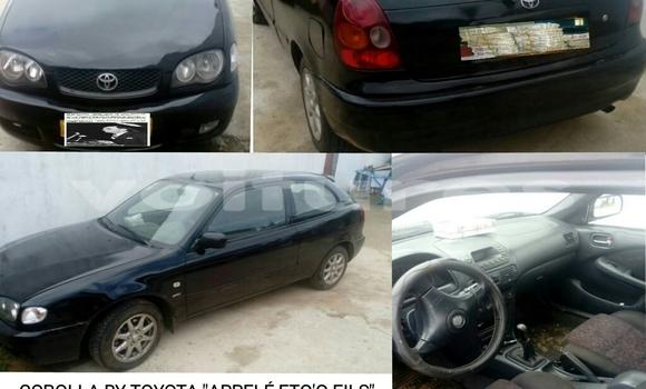 Acheter Occasion Voiture Toyota Corolla Noir à Libreville, Estuaire