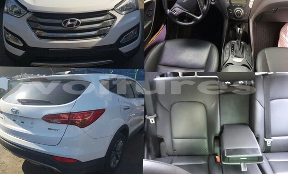 Acheter Occasion Voiture Hyundai Santa Fe Blanc à Libreville au Estuaire