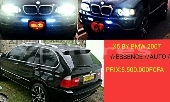Acheter Occasion Voiture BMW X5 Noir à Libreville au Estuaire