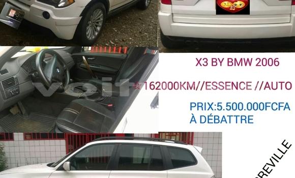 Acheter Occasion Voiture BMW X3 Blanc à Libreville, Estuaire