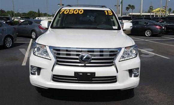Acheter Occasion Voiture Lexus LX 570 Blanc à Libreville au Estuaire