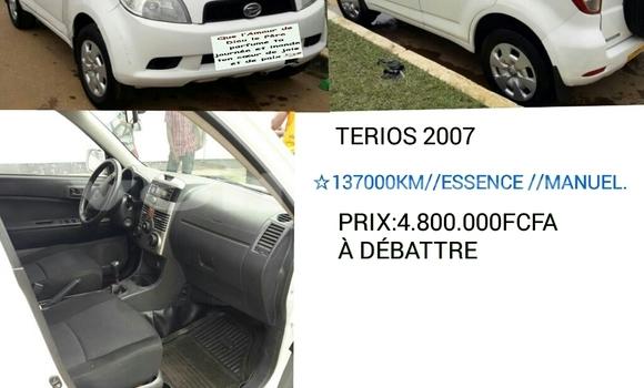 Acheter Occasion Voiture Daihatsu Terios Blanc à Libreville au Estuaire