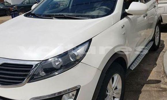 Acheter Occasion Voiture Kia Sportage Blanc à Libreville, Estuaire