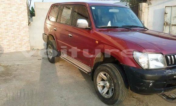 Acheter Occasion Voiture Toyota Prado Rouge à Libreville au Estuaire