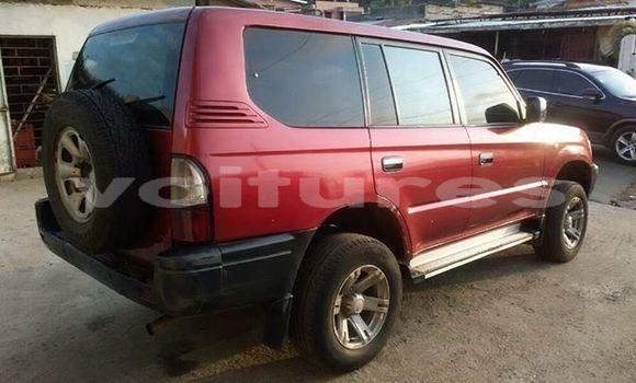 Acheter Occasions Voiture Toyota Prado Rouge à Libreville au Estuaire