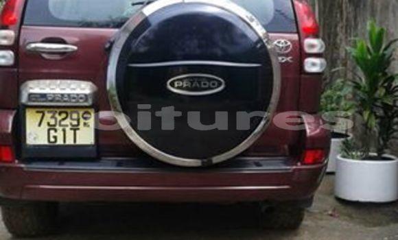 Acheter Occasion Voiture Toyota Land Cruiser Prado Rouge à Libreville, Estuaire