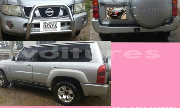 Acheter Occasion Voiture Nissan Patrol Gris à Libreville au Estuaire