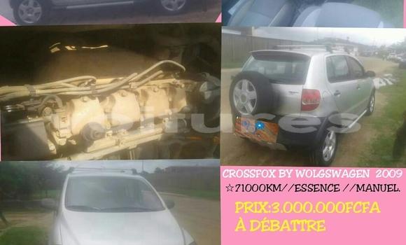 Acheter Occasion Voiture Volkswagen Crossfox Gris à Libreville au Estuaire