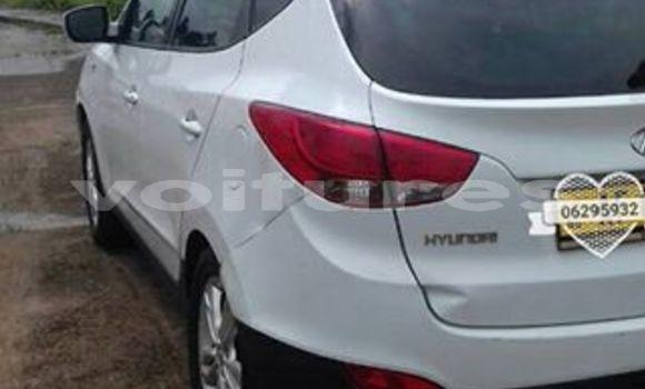 Acheter Occasion Voiture Hyundai ix35 Blanc à Libreville au Estuaire