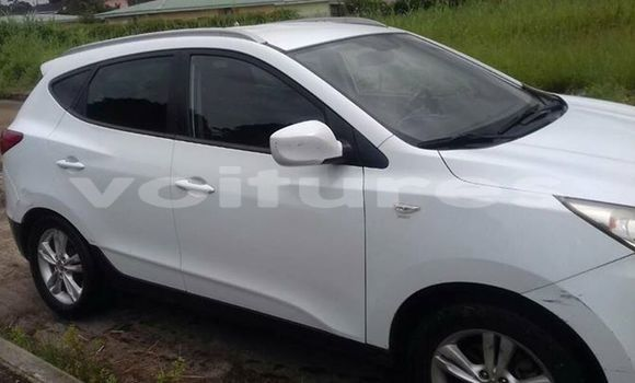 Acheter Occasion Voiture Hyundai ix35 Blanc à Libreville, Estuaire