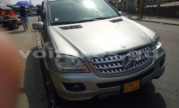 Acheter Occasion Voiture Mercedes‒Benz ML-Class Gris à Libreville au Estuaire