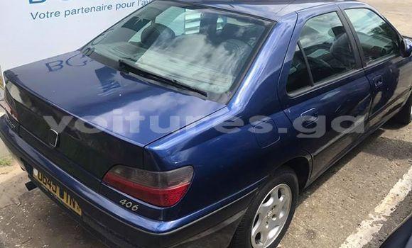 Acheter Occasion Voiture Peugeot 406 Bleu à Libreville au Estuaire