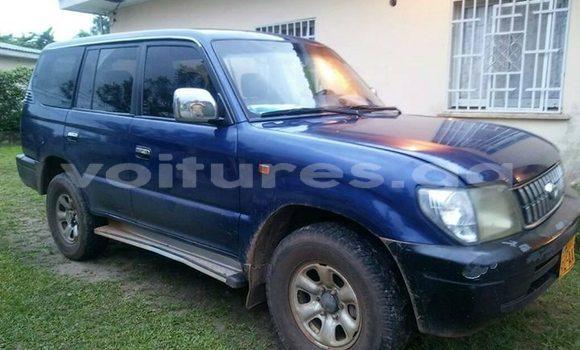 Acheter Occasion Voiture Toyota Land Cruiser Bleu à Libreville au Estuaire