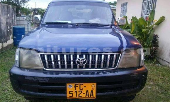 Acheter Occasions Voiture Toyota Land Cruiser Bleu à Libreville au Estuaire
