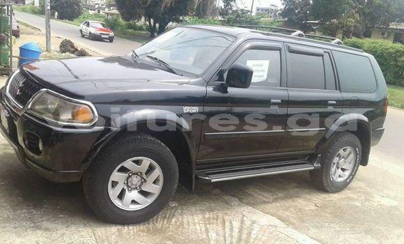 Acheter Occasion Voiture Mitsubishi Montero Noir à Libreville au Estuaire