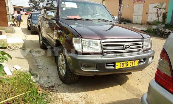 Acheter Occasion Voiture Toyota Land Cruiser Gris à Libreville au Estuaire