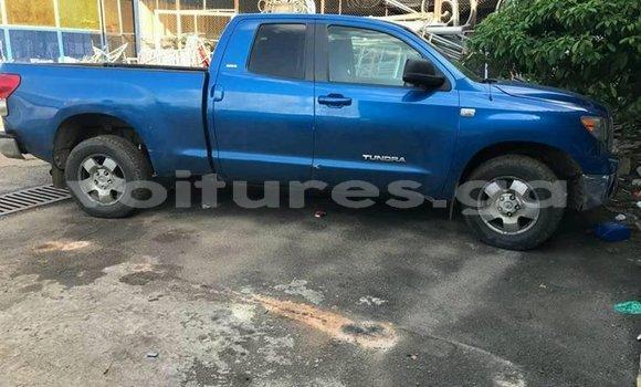 Acheter Occasion Voiture Toyota Tundra Bleu à Libreville, Estuaire