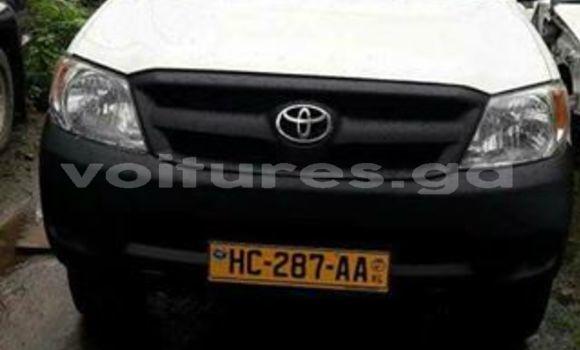 Acheter Occasion Voiture Toyota Hilux Blanc à Libreville, Estuaire