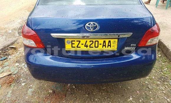 Acheter Occasion Voiture Toyota Yaris Bleu à Libreville au Estuaire