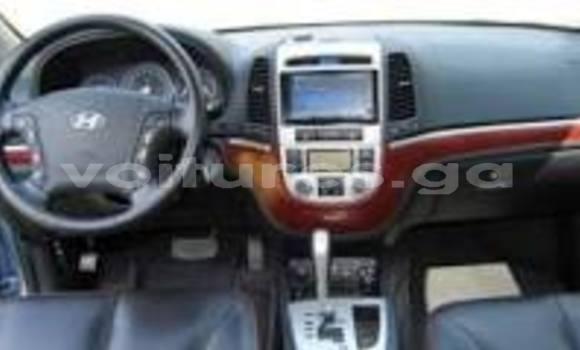 Acheter Occasion Voiture Hyundai Santa Fe Gris à Libreville au Estuaire