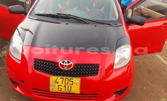 Acheter Occasion Voiture Toyota Yaris Rouge à Libreville au Estuaire