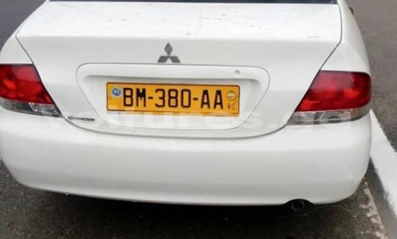 Acheter Occasion Voiture Mitsubishi Lancer Blanc à Libreville, Estuaire