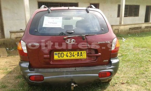 Acheter Occasion Voiture Hyundai Santa Fe Rouge à Libreville au Estuaire