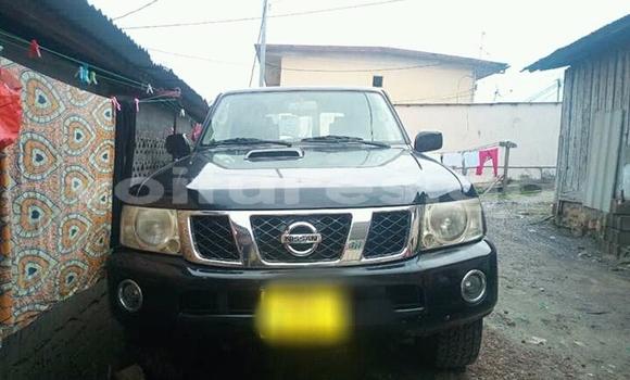 Acheter Occasion Voiture Nissan Patrol Noir à Libreville au Estuaire