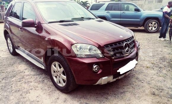 Acheter Occasion Voiture Mercedes‒Benz ML-Class Rouge à Libreville au Estuaire