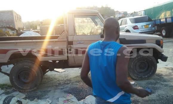 Acheter Occasion Voiture Toyota Land Cruiser Beige à Libreville au Estuaire