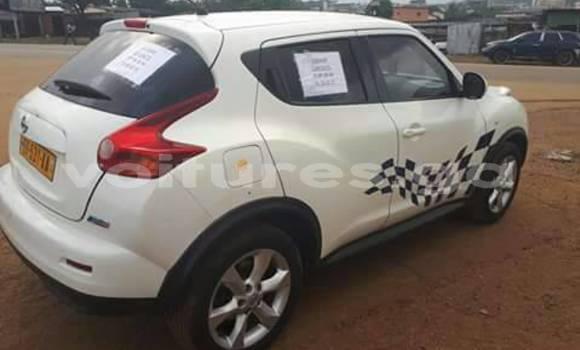 Acheter Occasion Voiture Nissan Juke Blanc à Libreville au Estuaire