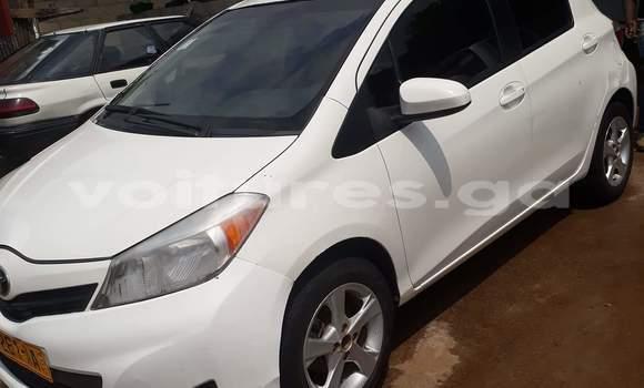 Acheter Occasion Voiture Toyota Yaris Blanc à Libreville au Estuaire