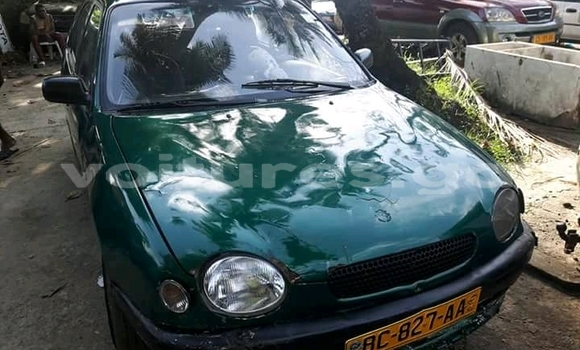 Acheter Occasion Voiture Toyota Corolla Vert à Libreville au Estuaire