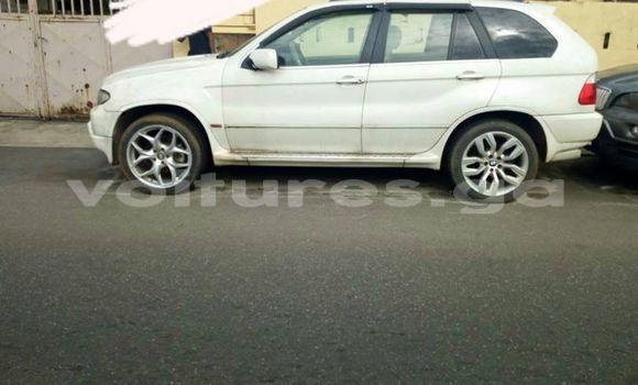 Acheter Occasion Voiture BMW X5 Blanc à Libreville au Estuaire
